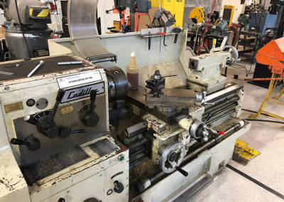 Metal Lathe at the FUSE MakerSpace