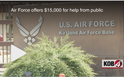 Air Force offers $15,000 for Help From Public